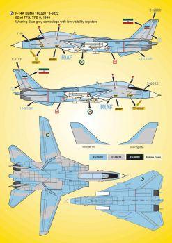 KMA3211 F-14A Tomcat iranische Luftwaffe
