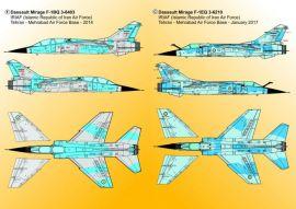 KMA4812 Mirage F1 iranische Luftwaffe