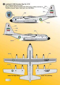 KMA7217 C-130 Hercules iranische Luftwaffe