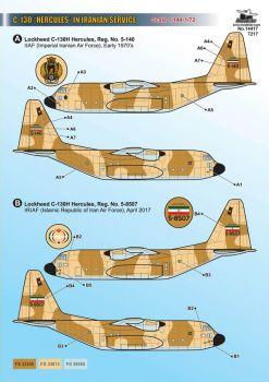 KMA14417 C-130 Hercules iranische Luftwaffe