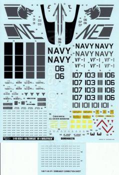 DXM48027 F-14A Tomcat VF-1 Wolfpack