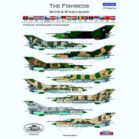 ACD72025 MiG-21 Fishbed im weltweiten Einsatz