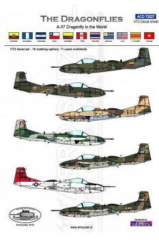 ACD72027 A-37B Dragonfly im weltweiten Einsatz