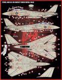 FD&S4814 F-14A Tomcat VF-154 Black Knights