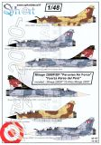 SY72107 Mirage 2000P/DP peruanische Luftwaffe