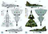 SH72411 AJ 37 & SK 37 Viggen Doppelbausatz