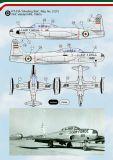 KMA4820 T-33A/RT-33A Shoooting Star iranische Luftwaffe