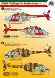 KMA7202 Bell 206 JetRanger iranische Luftwaffe
