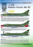 MRD3206 J 34 (Hunter Mk.50)
