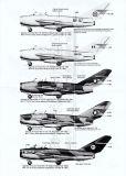 BD72069 MiG-17 Fresco afrikanische Luftstreitkräfte