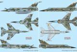 SH72414 Mirage F1B & F1C Doppelbausatz mit Buch von HMH Publications