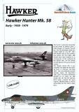 MC48019 Hunter Mk.58 Schweizer Luftwaffe 1958-1979