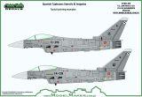 MOD72112 Eurofighter Typhoon spanische Luftwaffe