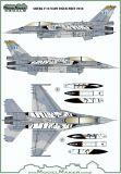 MOD72126 F-16D Block 52+ Fighting Falcon NATO Tiger Meet 2018