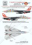 HU48194 F-14A Tomcat Miss Molly VF-111 Sundowners