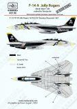 HU48196 F-14A Tomcat VF-84 Jolly Rogers 1987