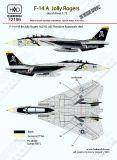 HU72196 F-14A Tomcat VF-84 Jolly Rogers 1987