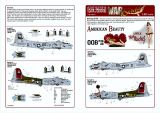 KW148001 B-17G Flying Fortress: American Beauty & Little Miss Mischief