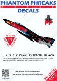 PPD72002 F-4EJ Kai Phantom II in Schwarz