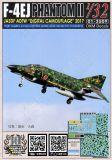 DXM32011 F-4EJ Phantom II in Digital Camouflage