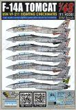 DXM48033 F-14A Tomcat VF-211 Checkmates