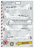 SY72919 Mirage 2000 Roundels and Stencils