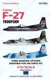 CD72092 F-27 Troopship internationale Luftstreitkräfte