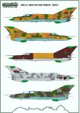 MOD48110 MiG-21 Fishbed/Mongol Libyan Air Force