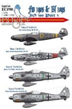 ECD72090 Bf 109G-6/Fw 190A-6