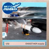 GM32002 Exocet AM39 Anti-Ship Missile