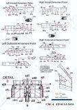 PRO48906G F-/RF-4 Phantom II Stencils in FS 36118 (Gunship Grey)