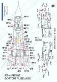PRO48906W F-/RF-4 Phantom II Stencils in FS 36622 (Light Grey)