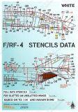 PRO72906W F-/RF-4 Phantom II Stencils in FS 36622 (Light Grey)