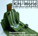 KW3D132002 Seat Belts Fighter Royal Air Force WW II
