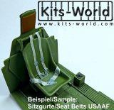 KW3D132003 Seat Belts Fighter USAAF WW II