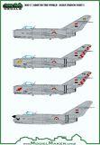 MOD72155 MiG-17 Fresco Around the World: Asian Air Forces Part 1