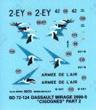 BD72124 Mirage 2000-5F EC 1/2 Cigognes Part 2