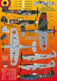 DCD7270 Spitfire Mk.9/14/16 Roundels and Squadron Markings