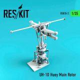 RSU350002 UH-1D Huey Main Rotor Head