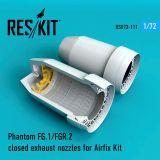 RSU720111 Phantom FG.1/FGR.2 Exhaust Nozzles (closed)