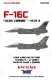 CD48194 F-16C Fighting Falcon Have Glass 5 Camouflage