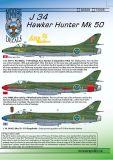 MRD7226 J 34 (Hunter Mk.50)