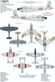 XD72323 SAAF Fighters/Attack Aircraft Post War Part 1