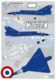 SY72123 Mirage IIIE Anniversary Finish EC 1/13 Artois