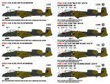 CD72112 A-10A Thunderbolt II European-1 Camouflage