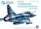 QD32009 Mirage 2000C Cockpit Details