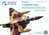 QD32012 Mirage 2000D Cockpit Details