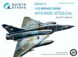 QD32013 Mirage 2000N Cockpit Details