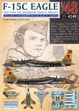 DXM48044 F-15C Eagle 75th Anniversary David R. Kingsley