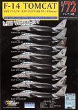 DXM74243 F-14 Tomcat VF-2, VF-11, VF-14, VF-31, VF-101 & VF-103 High & Low Visibility